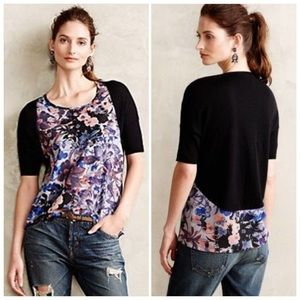 Anthropologie Last Act Pullover by Yellow Bird